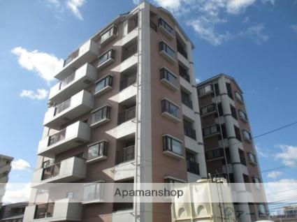 愛媛県松山市、松山駅徒歩10分の築26年 7階建の賃貸マンション