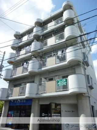 愛媛県松山市、平和通1丁目駅徒歩3分の築24年 5階建の賃貸マンション