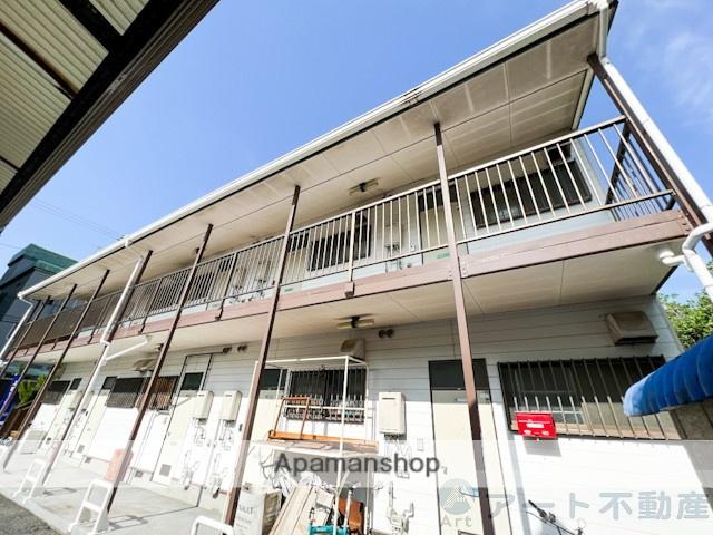 愛媛県松山市、清水町駅徒歩3分の築28年 2階建の賃貸アパート