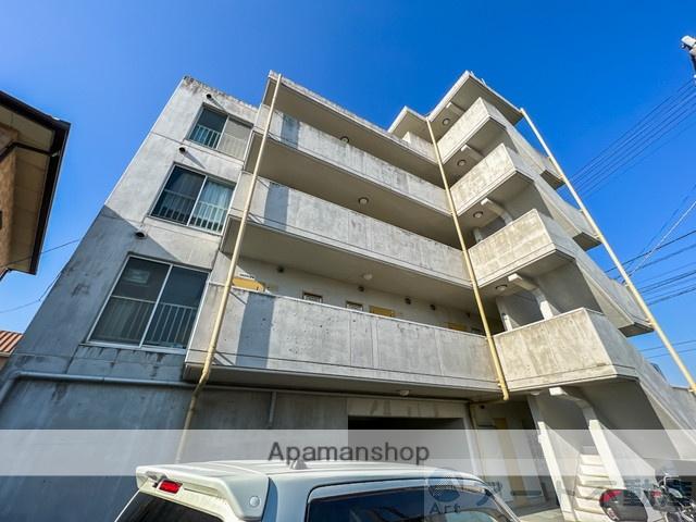 愛媛県伊予郡松前町、岡田駅徒歩18分の築27年 5階建の賃貸マンション
