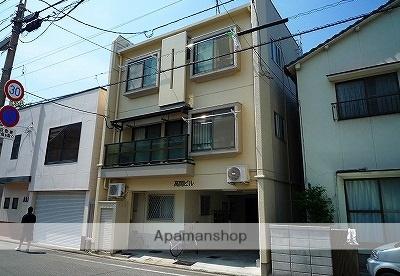 愛媛県松山市、平和通1丁目駅徒歩7分の築33年 3階建の賃貸マンション