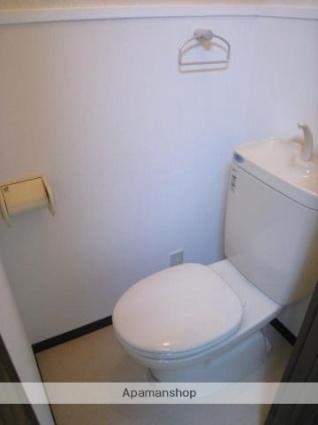 愛媛県松山市宮田町[1K/17.81m2]のトイレ