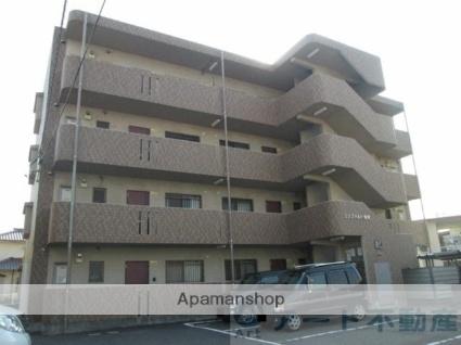 愛媛県松山市、松山市駅徒歩13分の築15年 4階建の賃貸マンション