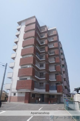 愛媛県松山市、木屋町駅徒歩17分の築35年 9階建の賃貸マンション