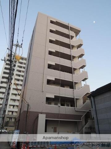 愛媛県松山市、古町駅徒歩7分の築1年 8階建の賃貸マンション