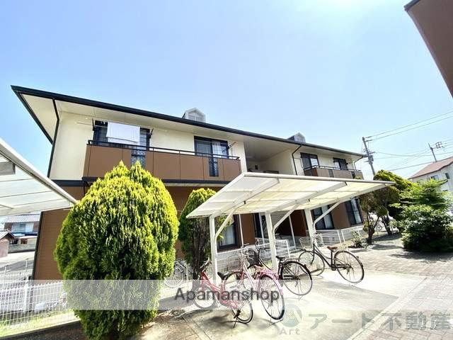 愛媛県伊予市、伊予市駅徒歩10分の築23年 2階建の賃貸アパート