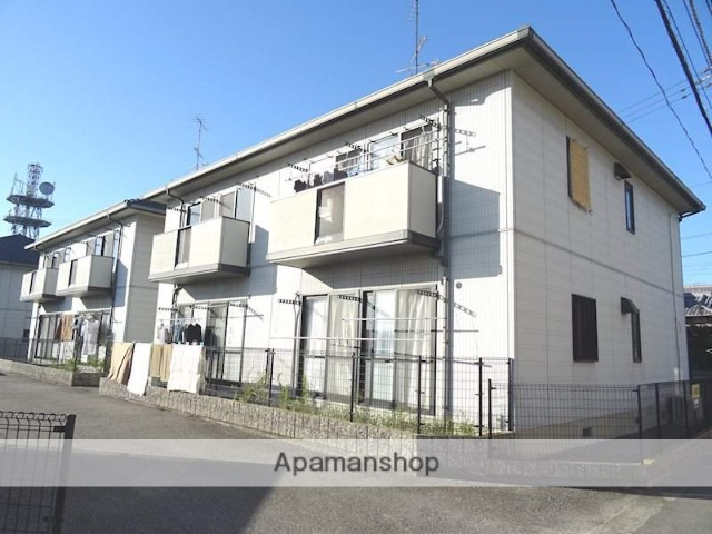 愛媛県松山市、伊予北条駅徒歩9分の築18年 2階建の賃貸アパート