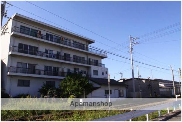 愛媛県松山市、伊予北条駅徒歩14分の築45年 4階建の賃貸アパート