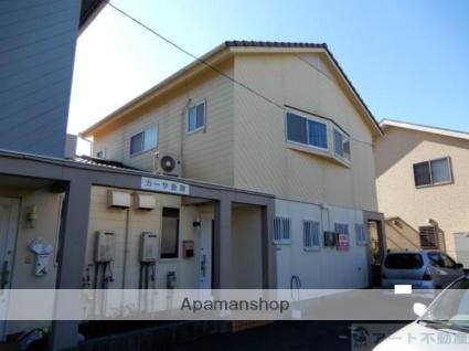 愛媛県松山市、三津浜駅徒歩6分の築24年 2階建の賃貸テラスハウス