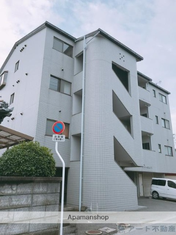 愛媛県松山市、松山駅徒歩14分の築22年 4階建の賃貸マンション