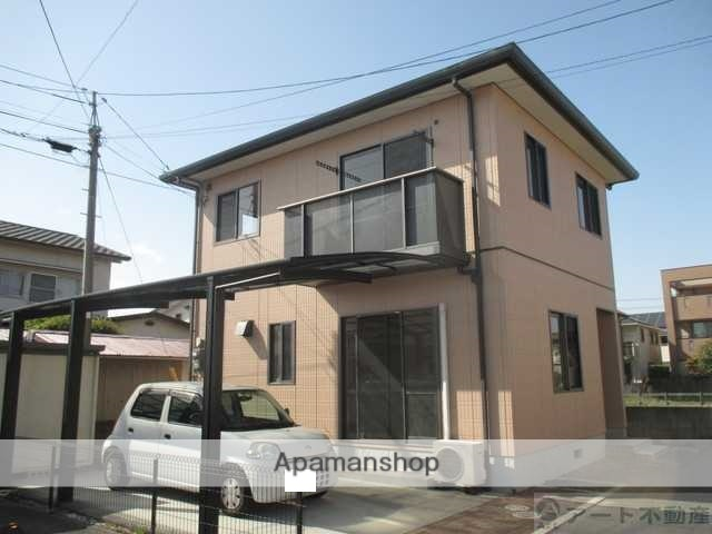 愛媛県松山市、余戸駅徒歩15分の築17年 2階建の賃貸一戸建て