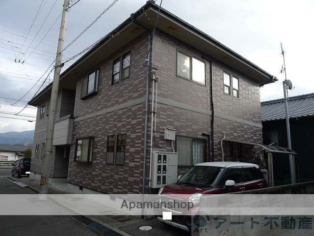 愛媛県松山市、伊予北条駅徒歩14分の築17年 2階建の賃貸アパート