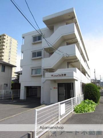 愛媛県松山市、松山駅徒歩14分の築16年 4階建の賃貸マンション