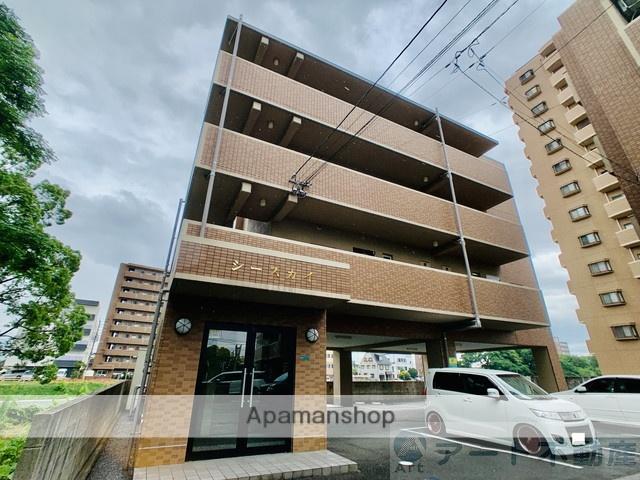 愛媛県松山市、勝山町駅徒歩13分の築9年 4階建の賃貸マンション