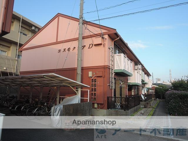 愛媛県松山市、松山駅徒歩10分の築26年 2階建の賃貸アパート