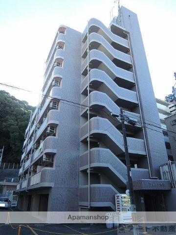 愛媛県松山市、平和通1丁目駅徒歩8分の築18年 8階建の賃貸マンション