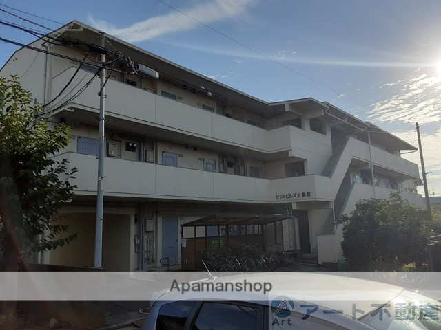 愛媛県松山市、土居田駅徒歩4分の築28年 3階建の賃貸マンション