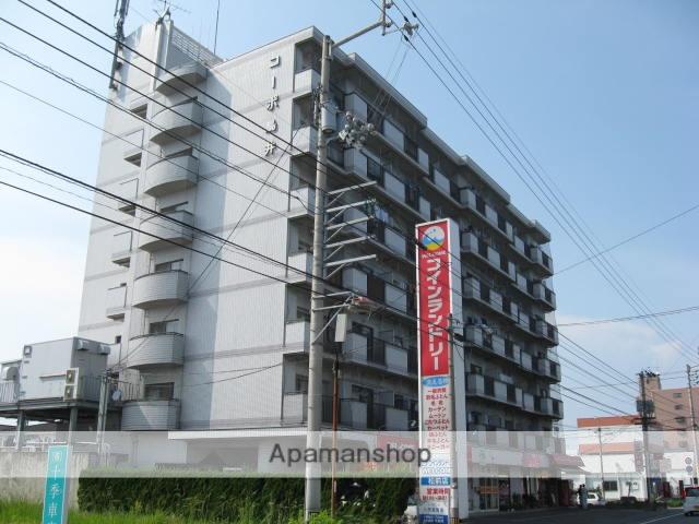 愛媛県伊予郡松前町、古泉駅徒歩14分の築27年 7階建の賃貸マンション