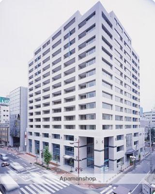 愛媛県松山市、松山市駅徒歩5分の築15年 15階建の賃貸マンション