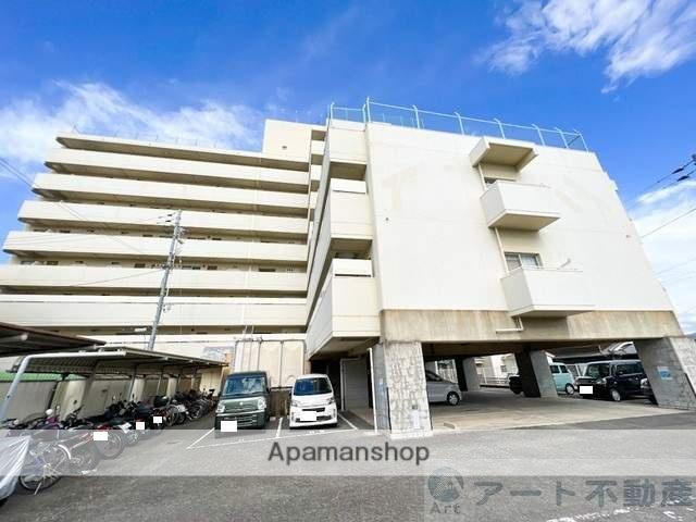 愛媛県松山市、余戸駅徒歩1分の築35年 8階建の賃貸マンション