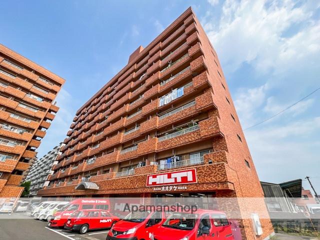 愛媛県松山市、土橋駅徒歩4分の築31年 10階建の賃貸マンション