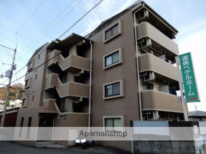 愛媛県松山市の築18年 4階建の賃貸マンション