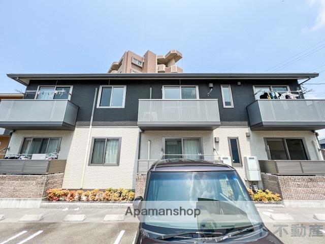 愛媛県松山市、土橋駅徒歩18分の築4年 2階建の賃貸アパート