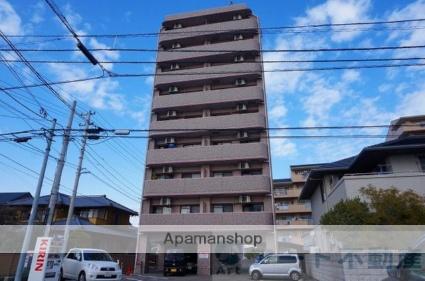 愛媛県松山市、松山駅徒歩15分の築10年 9階建の賃貸マンション