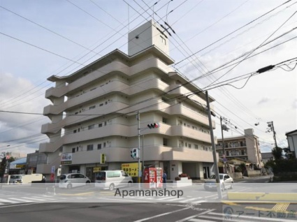 愛媛県松山市、三津浜駅徒歩18分の築30年 6階建の賃貸マンション