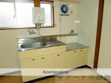 UKENA川内[3DK/56.7m2]のキッチン