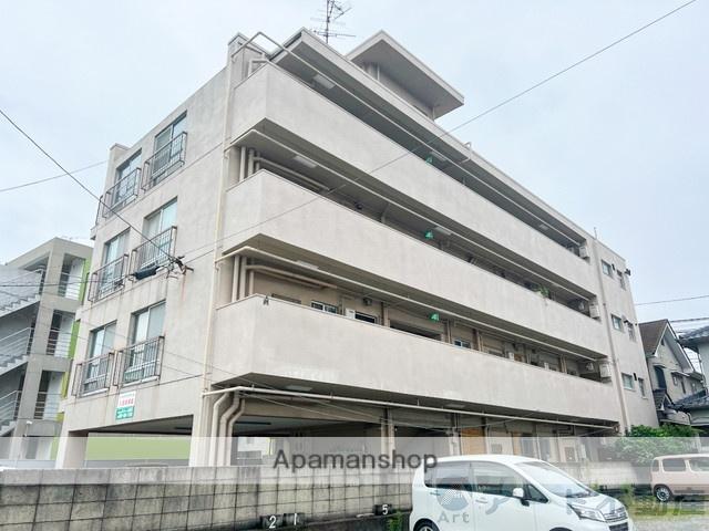 愛媛県松山市、勝山町駅徒歩16分の築42年 4階建の賃貸マンション