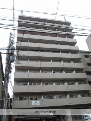 愛媛県松山市、警察署前駅徒歩4分の築17年 10階建の賃貸マンション