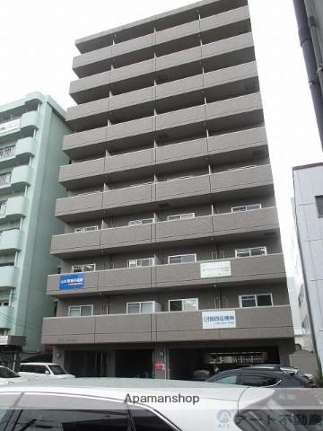 愛媛県松山市、松山駅徒歩5分の築17年 10階建の賃貸マンション