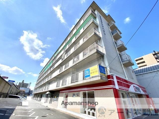 愛媛県松山市、萱町6丁目駅徒歩7分の築34年 6階建の賃貸マンション