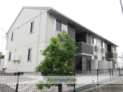 愛媛県伊予郡松前町、岡田駅徒歩16分の築3年 2階建の賃貸アパート