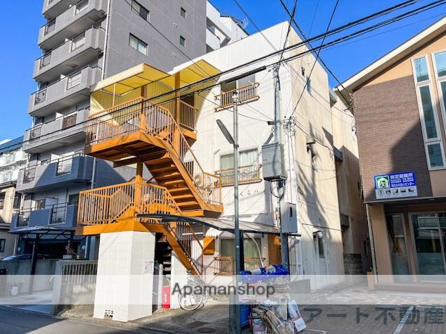 愛媛県松山市、清水町駅徒歩3分の築35年 3階建の賃貸マンション