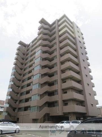愛媛県松山市、南町駅徒歩8分の築6年 13階建の賃貸マンション