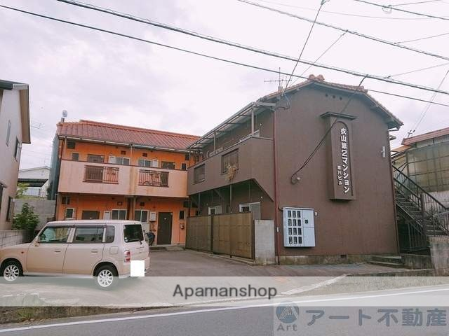 愛媛県松山市、山西駅徒歩19分の築31年 2階建の賃貸アパート