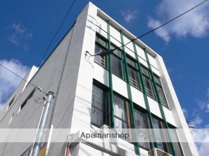 愛媛県松山市、平和通1丁目駅徒歩2分の築45年 3階建の賃貸マンション