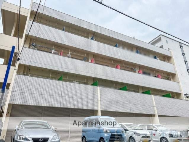 愛媛県松山市、古町駅徒歩6分の築31年 4階建の賃貸マンション