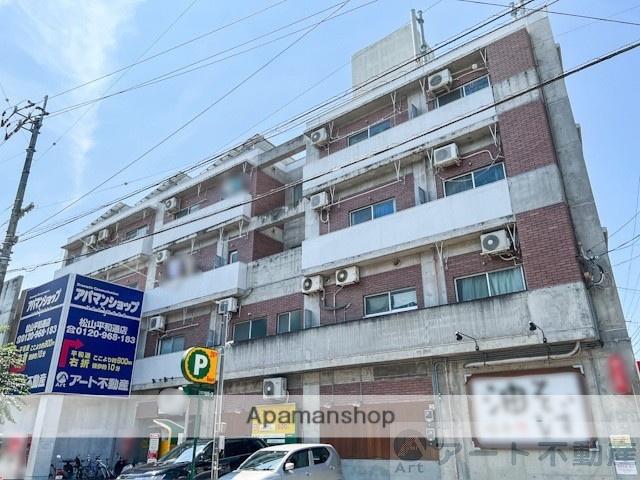 愛媛県松山市、清水町駅徒歩4分の築29年 4階建の賃貸マンション