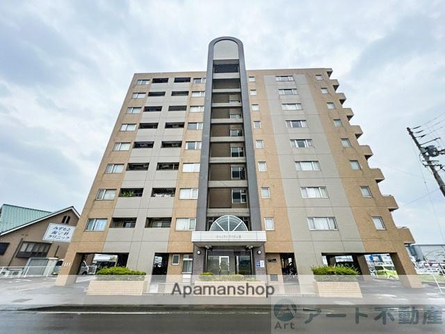 愛媛県松山市、北久米駅徒歩36分の築20年 9階建の賃貸マンション