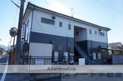 愛媛県伊予郡松前町、岡田駅徒歩7分の築19年 2階建の賃貸アパート