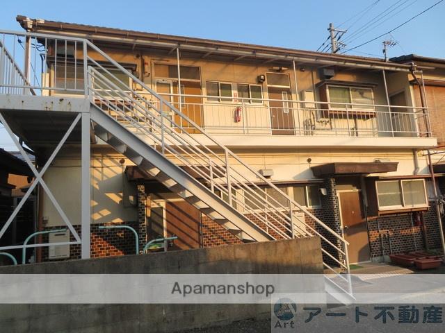 愛媛県松山市、土橋駅徒歩7分の築45年 2階建の賃貸アパート
