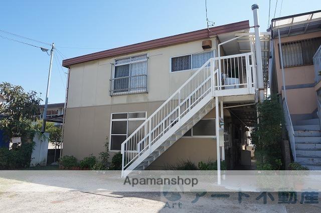 愛媛県松山市、松山駅徒歩10分の築36年 2階建の賃貸アパート
