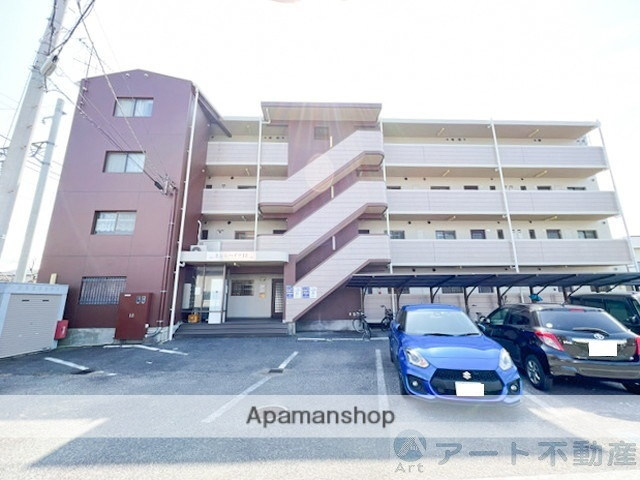 愛媛県松山市、土橋駅徒歩12分の築19年 4階建の賃貸マンション