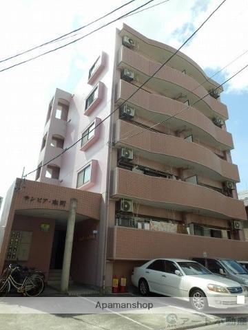 愛媛県松山市、松山駅徒歩10分の築23年 5階建の賃貸マンション