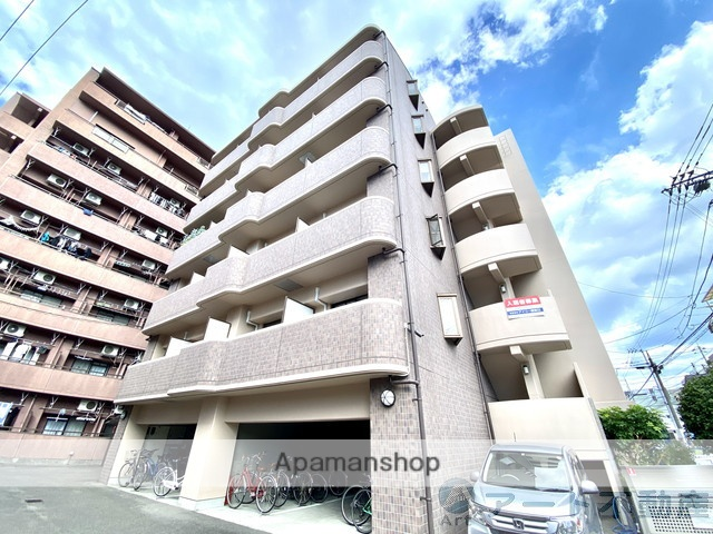 愛媛県松山市、鉄砲町駅徒歩6分の築14年 6階建の賃貸マンション