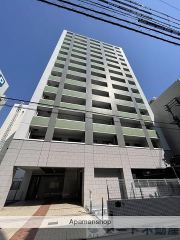 愛媛県松山市、市役所前駅徒歩6分の築10年 14階建の賃貸マンション