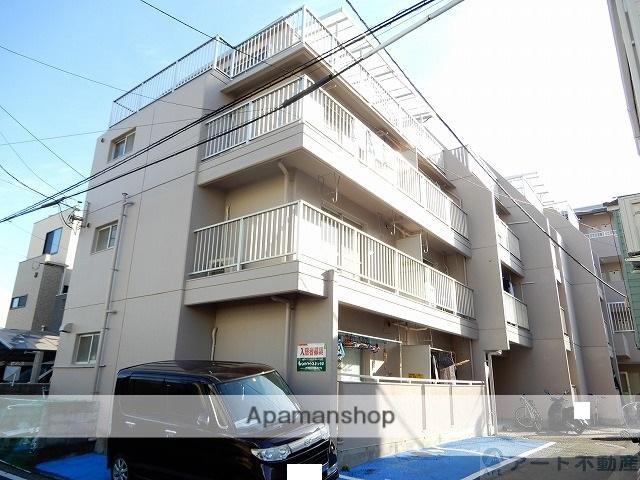 愛媛県松山市、大街道駅徒歩12分の築28年 4階建の賃貸アパート